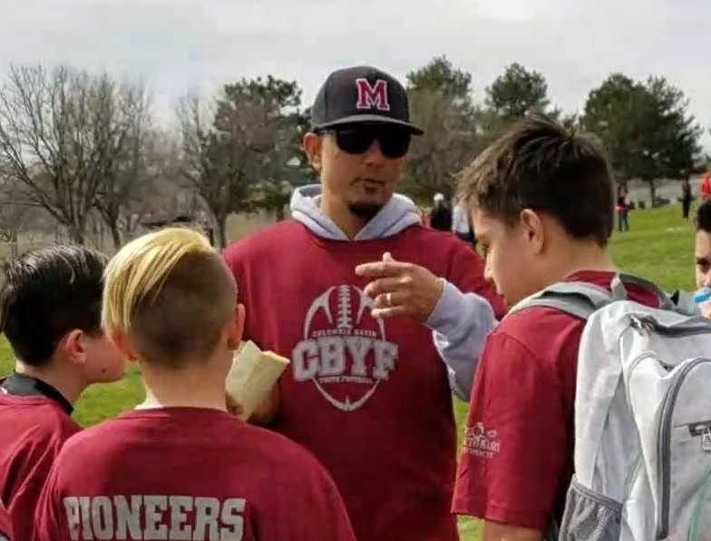 Jorge Estrada has coached in the Milton-Freewater youth football league since 2015.