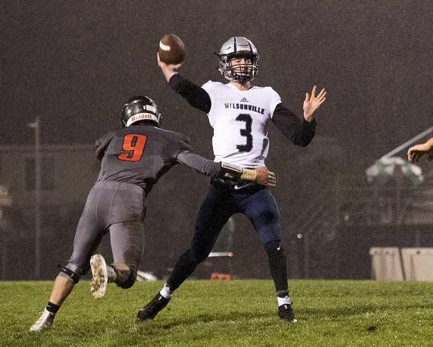 Wilsonville's Nathan Overholt has thrown 28 touchdown passes this season. (Fontaine Rittelman/OregonLive)