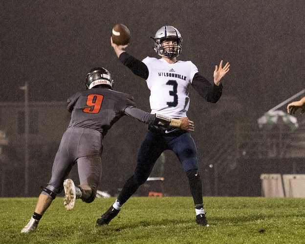 Wilsonville's Nathan Overholt has thrown 28 touchdown passes this season. (Fontaine Rittelman/OregonLive)