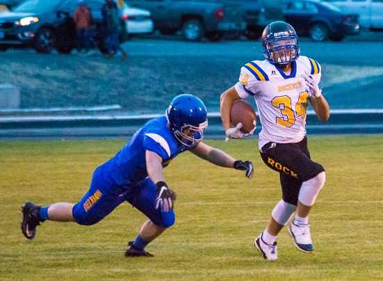 Sophomore Tyasin Burns has rushed for more than 1,000 yards this season. (DGP/Danielle Gambill Photography)