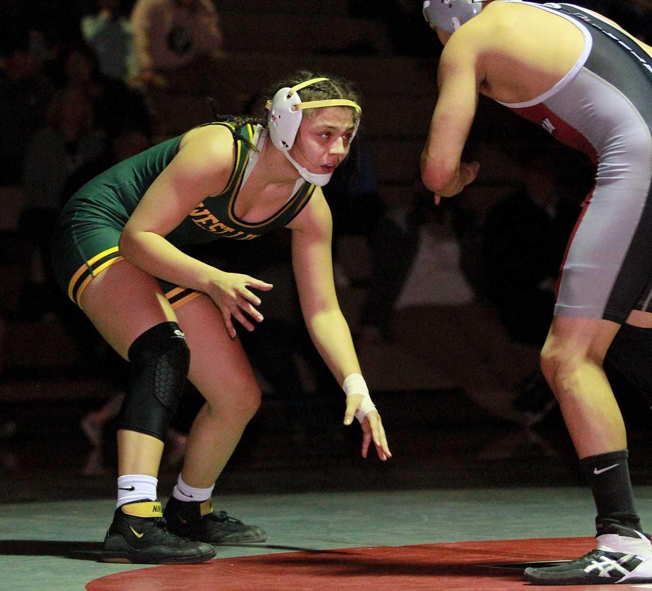 Destiny Rodriguez has won junior and cadet national titles at Fargo. (Courtesy photo: Pamplin Media Group)