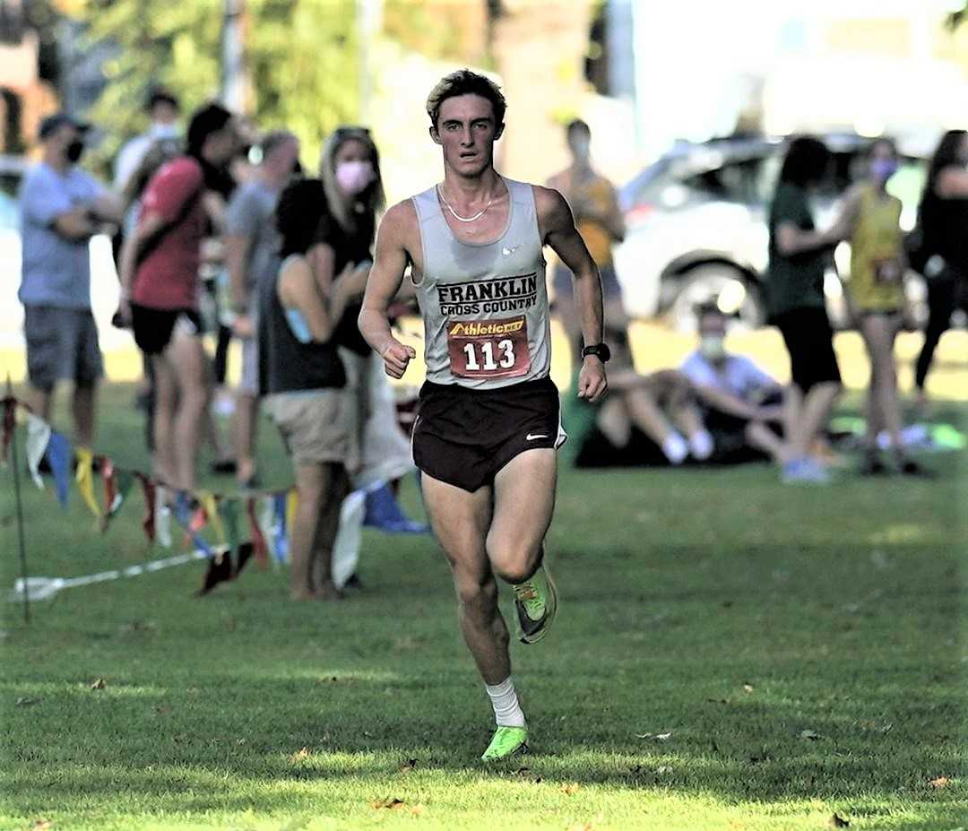 Franklin's Charlie North won the PIL Preview by 13 seconds last week. (Photo by Jon Olson)
