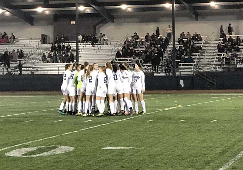 Canby's girls came together to defeat higher-seeded Glencoe on Saturday