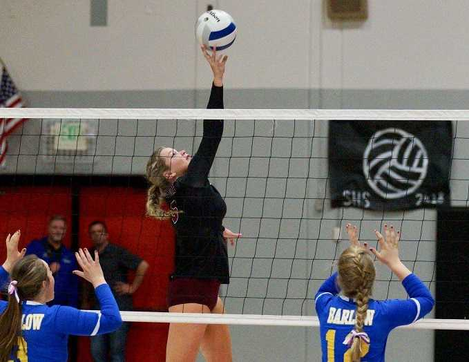 Sandy senior setter Brooke Dodge is the Mt. Hood player of the year.