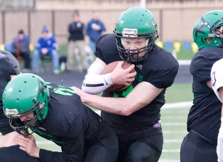 Rainier quarterback Joey Tripp rushed for 2,380 yards and 31 touchdowns this season. (Photo by Norm Maves Jr.)