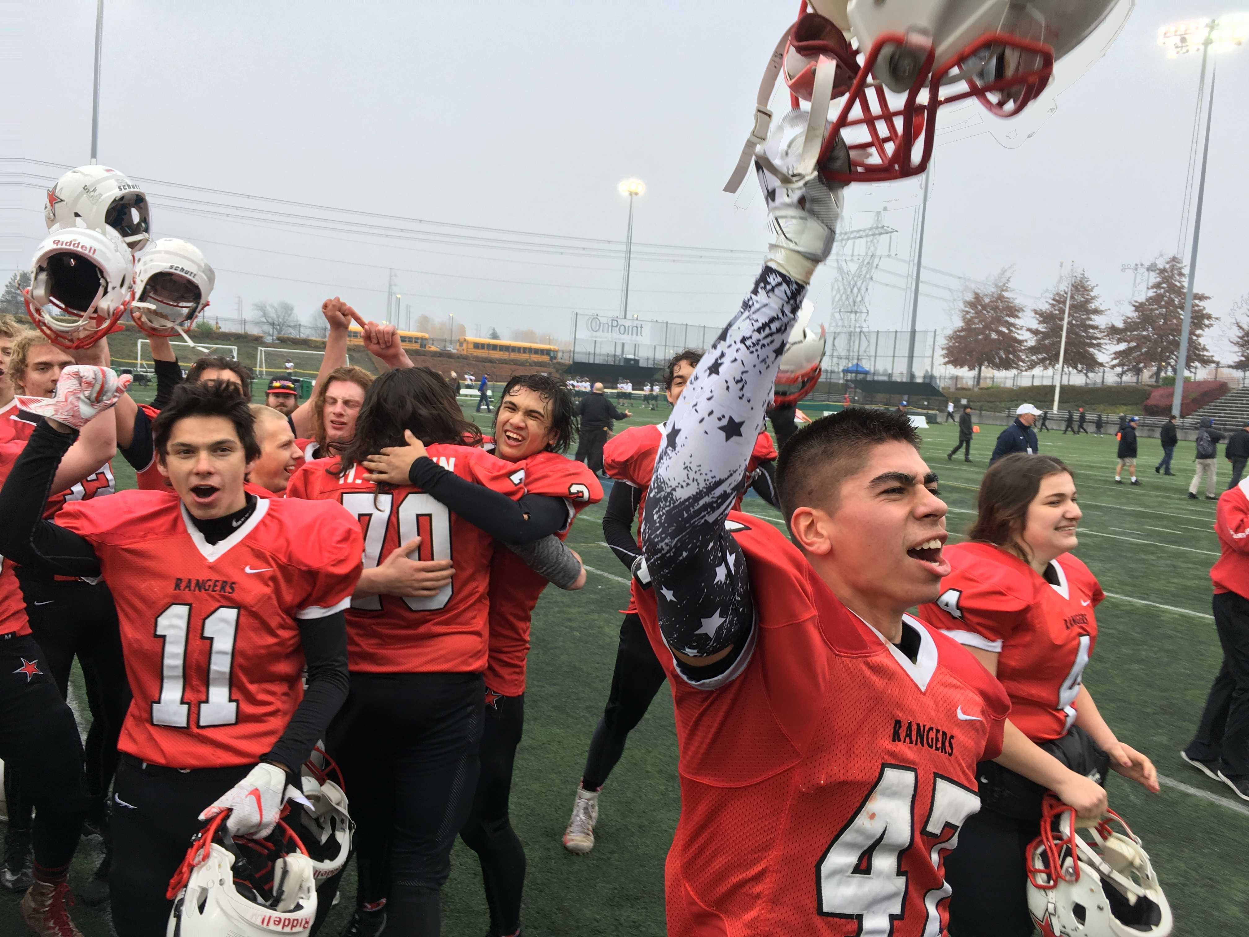 Four-time reigning 1A football champion Dufur is a member of the Big Sky League.