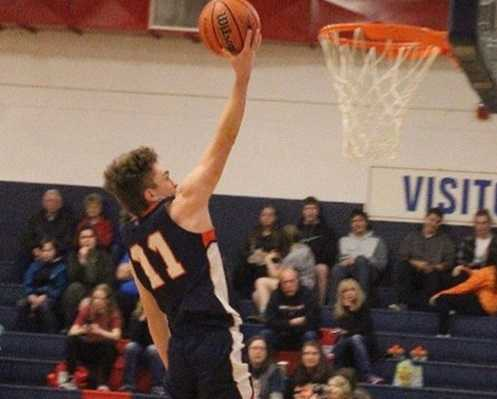 Monroe junior guard Zach Young has a knack for getting to the rim.