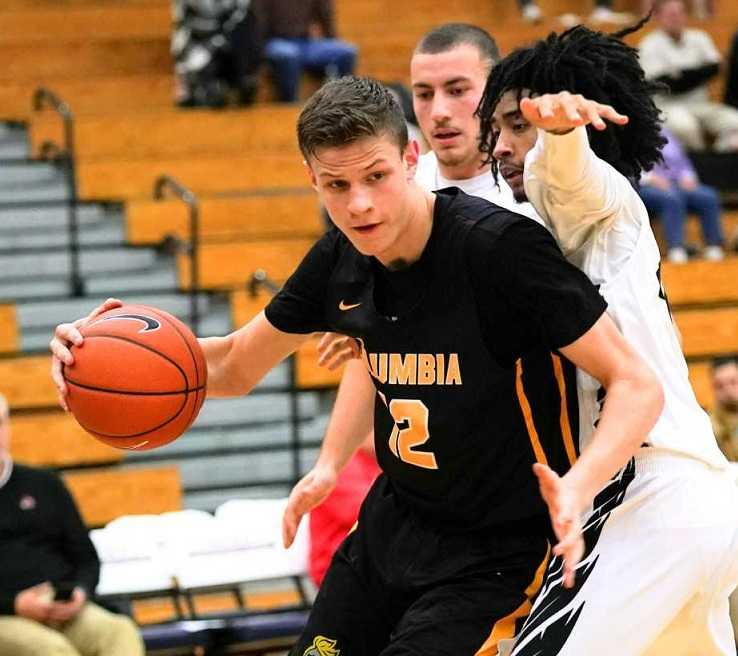 Columbia Christian sophomore Ben Gregg is averaging 24 points, 15 rebounds and five assists. (Photo by Jon Olson)