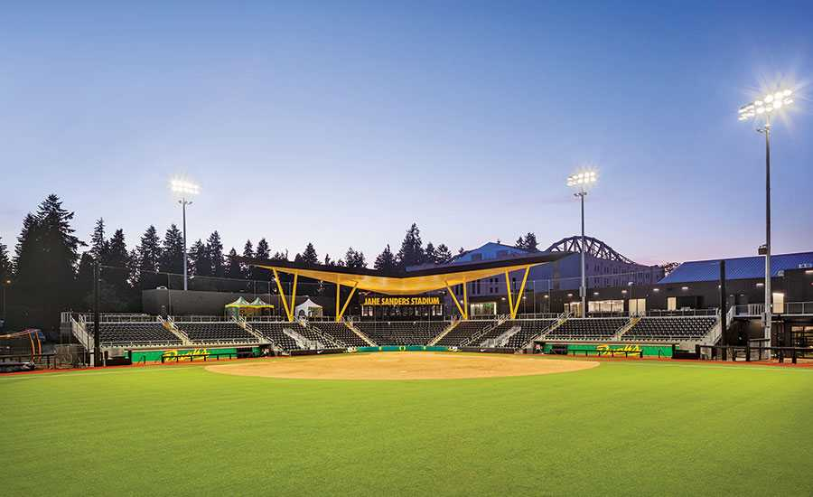 Jane Sanders Stadium at University of Oregon in Eugene.