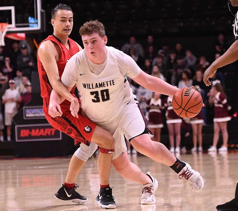 Jacob Curtis had 10 points in Willamette's win over Thurston. (Leon Neuschwander/OregonLive)