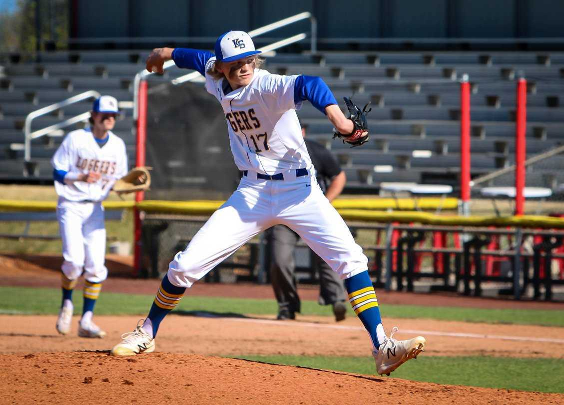 Knappa junior Eli Takalo was the winning pitcher in the last two state finals. (Photo by Krissy Goodman)