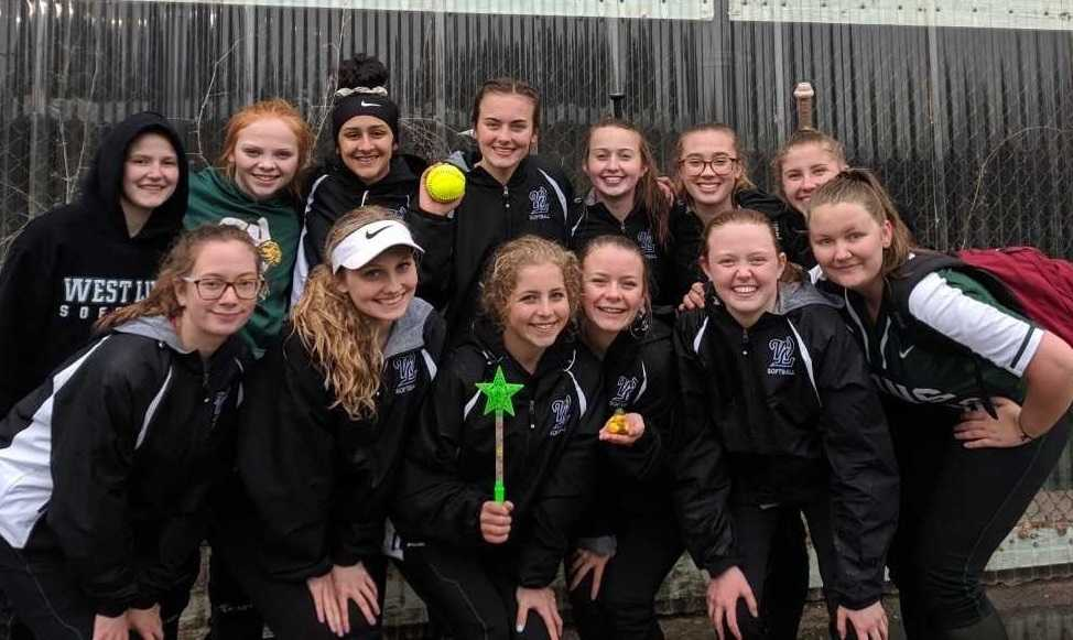 West Linn's JV softball team is 13-0 this season.