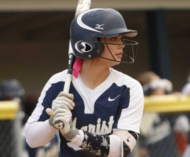 Ariel Carlson is batting .692 with 15 home runs and 43 RBIs for Marist Catholic. (Courtesy Marist Catholic HS)