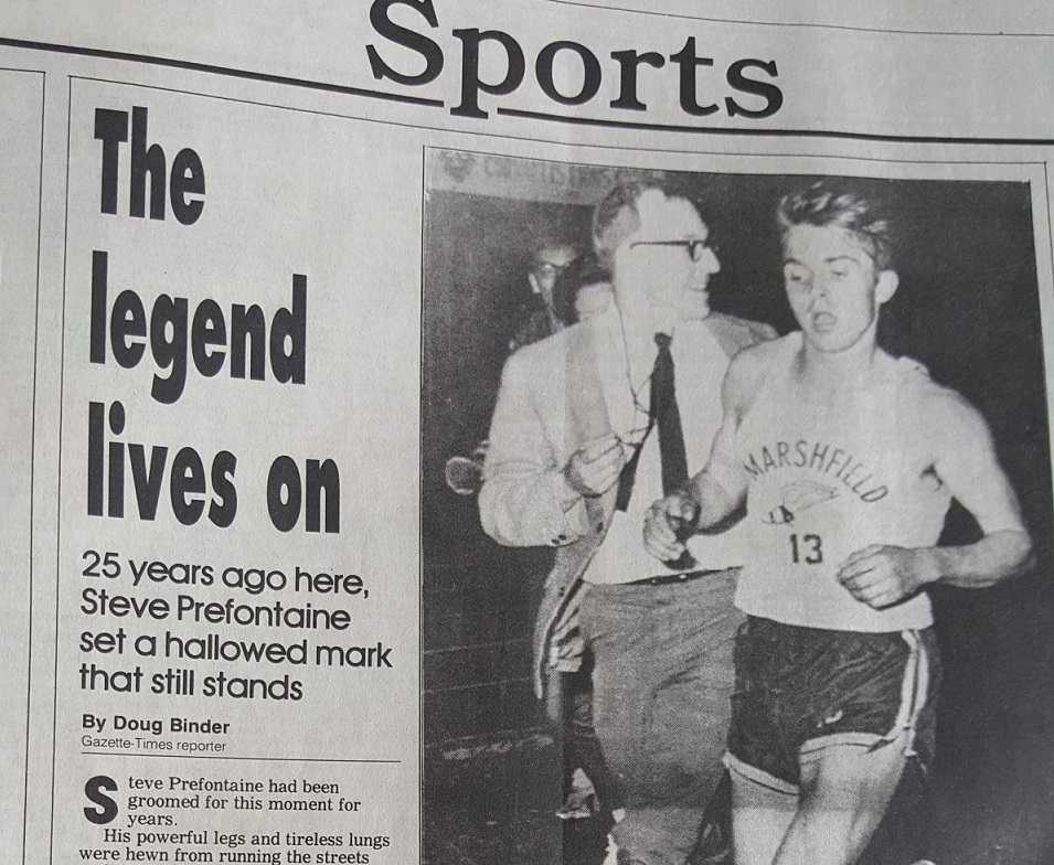 Steve Prefontaine's performance on April 25, 1969 became the stuff of legend.