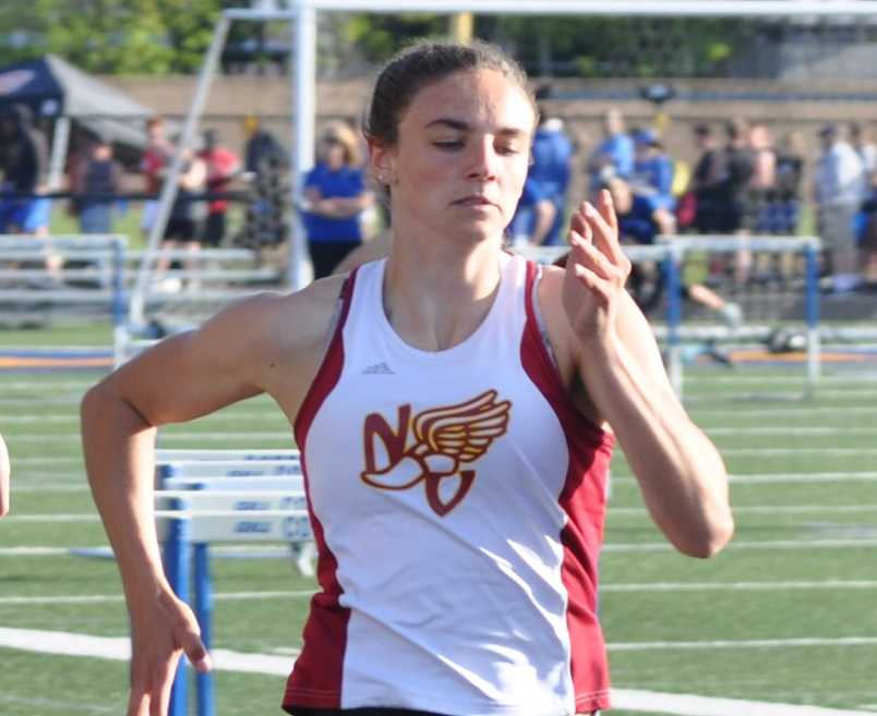 North Valley's Baylee Touey plans to do track and soccer in college at Southern Oregon. (Photo courtesy North Valley HS)