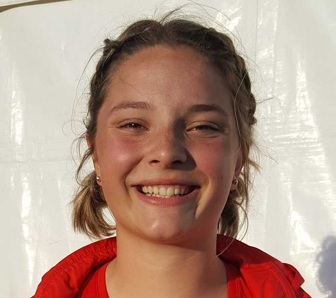 Seaside's Gretchen Hoekstra threw the shot 50 feet, 1 1/2 inches this season.