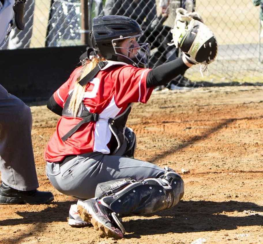 Senior catcher Hailie Wright is a fourth-year starter for Grant Union. (Photo by Tanni Wenger)