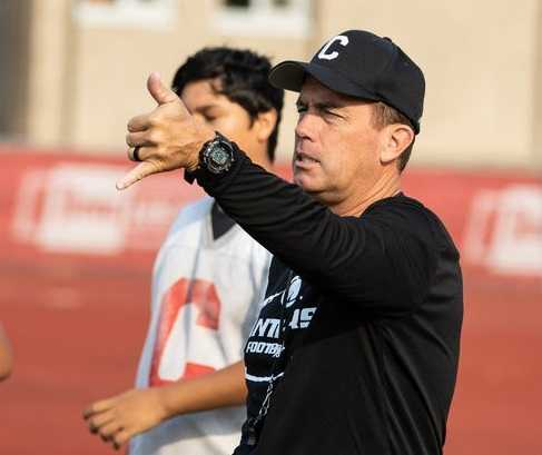 Shane Hedrick coached Central to the state semifinals five times. (Chase Allgood/OregonLive)