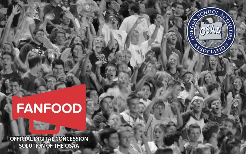 FanFood is the Official Digital Concession Solution of the OSAA